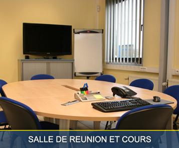 Salle de réunion et cours